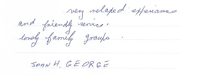 George portraits
