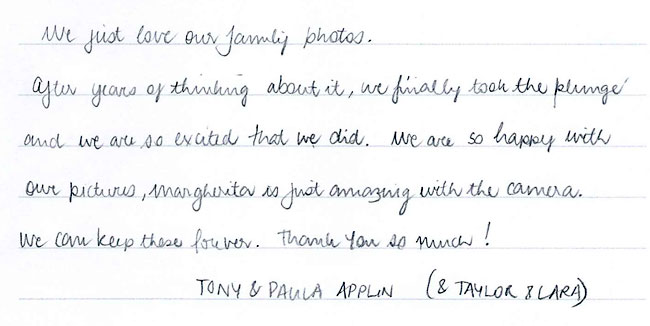 Applin family photographs