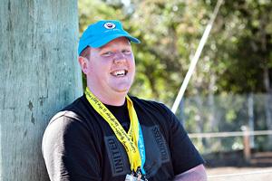 Camp Quality Volunteer Blaize