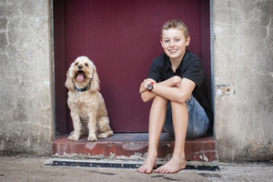 dog-boy-portrait