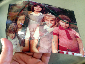 damaged pictures