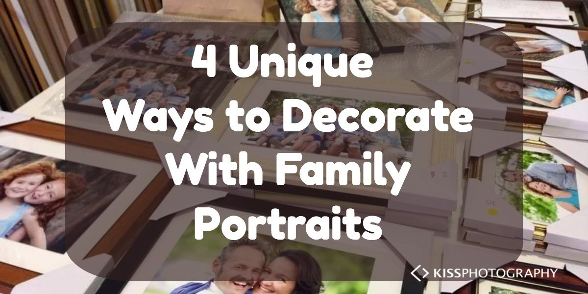 Decorate with family portraits