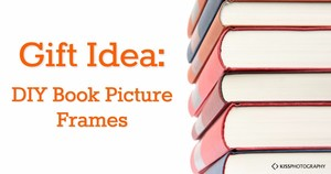 DIY Book Picture Frames