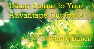 Using Colour Outdoors for Portrait Photography in Spring
